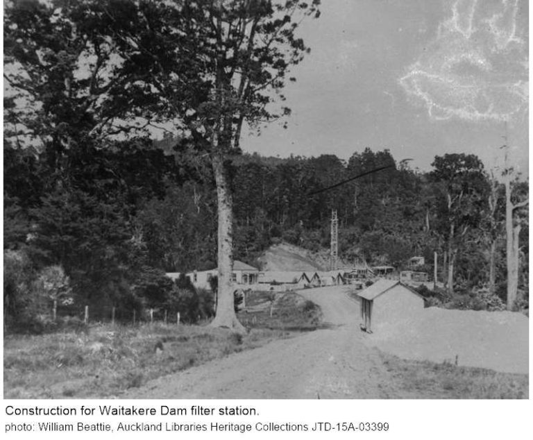 Construction for Waitakere Dam filter station  768x634